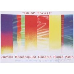 James Rosenquist Slush Thrust, 1970, signed #2376285