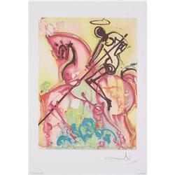 Salvador Dali Saint Georges, 1983 Lithograph #2376289