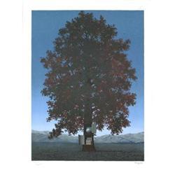 Rene Magritte La Voix Du Sang Lithograph #2376294