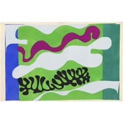 Matisse Lagon from the Jazz portfolio, 1947 #2376296