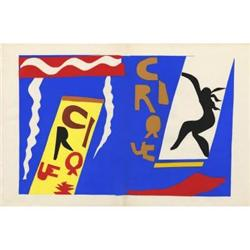 Matisse Le Cirque L/E Jazz portfolio, 1947 #2376298