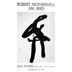 Robert Motherwell Sala Pelaires 1986 Offset#2376300
