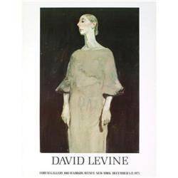 David Levine Portrait Offset Lithograph #2376318