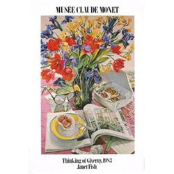 Janet Fish Thinking of Giverny 1983 Offset#2376321