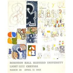 Chryssa Robinson Hall Harvard University 1968#2376324