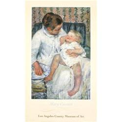 Mary Cassatt  Mother about to Wash her Sleepy#2376328