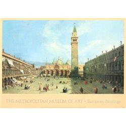 Canaletto Piazza San Marco Offset Lithograph #2376335