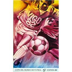 Pierre Monory Affiche Mundial 1982 Offset#2376355