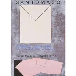 Santomasso Fundacio Joan Miro, 1979 Lithograph #2376364