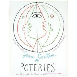Cocteau Jean Poteries (Arches) Lithograph#2376367