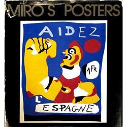 Joan Miro Miro's Posters- Aidez L'Espagne Book #2376375