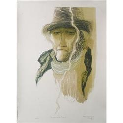 Benton Spruance Master of the Pequod Lithograph#2376376