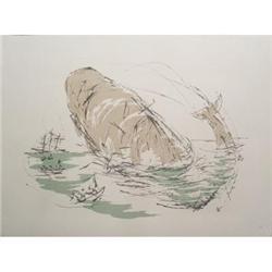 Benton Spruance The Jungfrau Lithograph #2376384