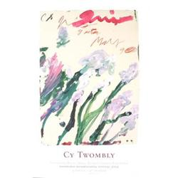 Cy Twombly Nicola's Iris Offset Lithograph #2376401