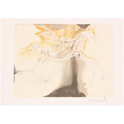 Salvador Dali Pegase, 1983 Lithograph #2376406