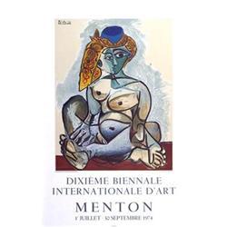 Pablo Picasso Femme Au Bonnet Turc, Menton, #2376410