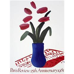David Hockney Flower Study, 1981-#99 #2376420