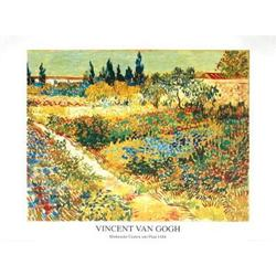 Vincent van Gogh Garden with Flowers #2376428