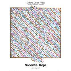 Rojo   Galeria Joan Prats 1987 #2376442