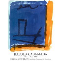 Rafols-Casamada   Galeria Joan Prats 1988 #2376448