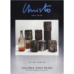Christo   Wrapped Cans & A Bottle 1991 #2376467