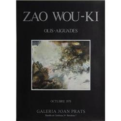 Zao Wou-Ki   Olis - Agvades 1978 #2376468