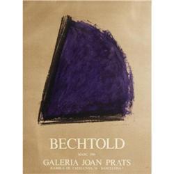 Bechtold   Galeria Joan Prats 1984 #2376471