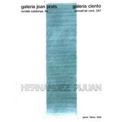 Hernandez Pijuan   Galeria Joan Prats 1979 #2376480