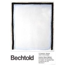 Bechtold   Galeria Rene Metras 1978 #2376481