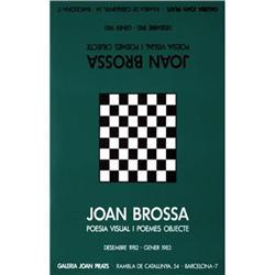 Brossa   Poesia Visual I Poemes Objecte 1983 #2376482