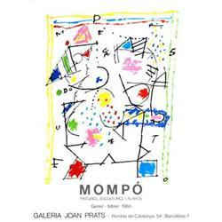 Mompo   Galeria Joan Prats 1984 #2376487