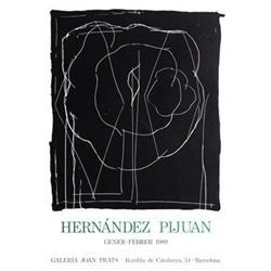 Hernandez Pijuan   Galeria Joan Prats 1989 #2376511