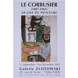 Le Corbusier   Galerie Zlotowski 2001 #2376520