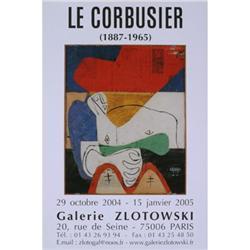 Le Corbusier   Galerie Zlotowski 2004 #2376521