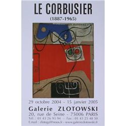 Le Corbusier   Galerie Zlotowski 2004 #2376522