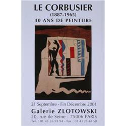 Le Corbusier   Galerie Zlotowski 2001 #2376523