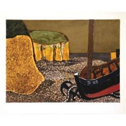 Georges Braque La Barque D27, 1929 lithograph #2376527