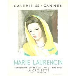 Marie Laurencin Galerie 65-Cannes 1962#2376532