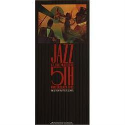 Romare  Bearden Jazz at the Institute, 1982,#2376537