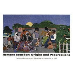 Romare  Bearden Origins and Progressions, 1986,#2376540