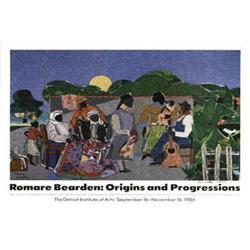 Romare  Bearden Origins and Progressions, 1986,#2376541