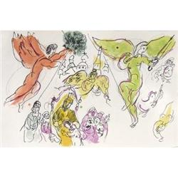 Marc Chagall Flying Angels (d'apres Chagall)#2376546