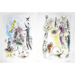 Marc Chagall Les Lilas and Les Clowns Musiciens#2376552
