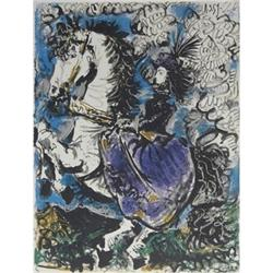 Pablo Picasso Woman on Horseback Lithograph #2376564