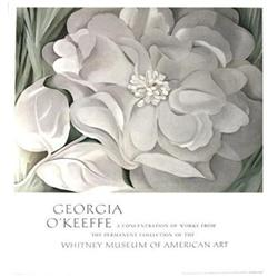 Georgia O'Keeffe The White Calico Flower, 1981#2376577
