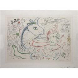 Marc Chagall Untitled Lithograph #2376594