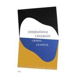 Charles Hinman Intl Univsty Choral Fstvl 1965#2376598