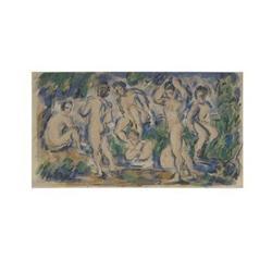 Paul Cezanne Les Baigneurs/The Bathers#2376600
