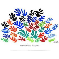 Henri Matisse La Gerbe Offset Lithograph #2376601