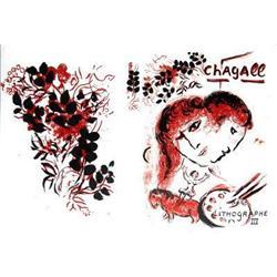 Marc Chagall Lithographe III Lithograph #2376602